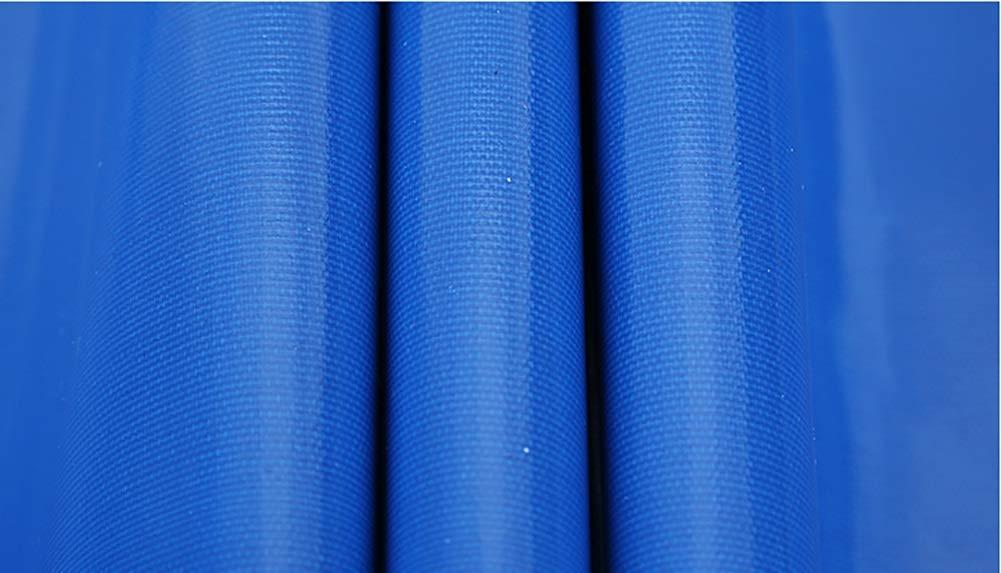 Tarpaulin Impermeabile Reversibile e Impermeabile per per per Telo Cerato Telo Impermeabile per Esterno, Blu, 350 g m² (Dimensioni   5x8m) | Di Alta Qualità E Poco Costoso  | Sito Ufficiale  9722ef