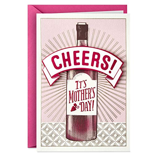 Hallmark Shoebox Funny Mothers Day Card (Cheers) ()