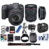 Canon EOS RP Mirrorless Full Frame Digital Camera with RF 24-105mm F4 L is Lens - Bundle Mount Adapter EF-EOS R, 32GB SDHC U3 Card, Camera Case, Cleaning Kit, Pc Software Package, and More