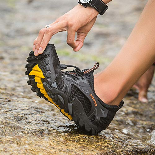 Sports black Outdoor Backpacking B Men Hiking FLARUT Running Trekking Sneakers Climbing Shoes Boots FUOqIx7
