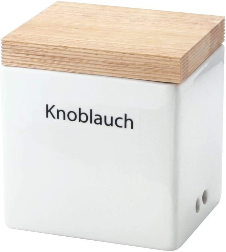 Vorratsbox mit Holzdeckel Knäckebrot Continenta Vorratsdose Vorratsbehälter