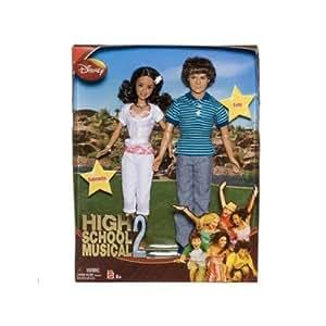 High School Musical 2: Gabriella and Troy Dolls