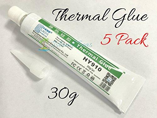150g (30 x 5) -Thermal Conductive Silicone Glue Adhesive Plaster Halnziye - LED GPU Heatsink Mosfets