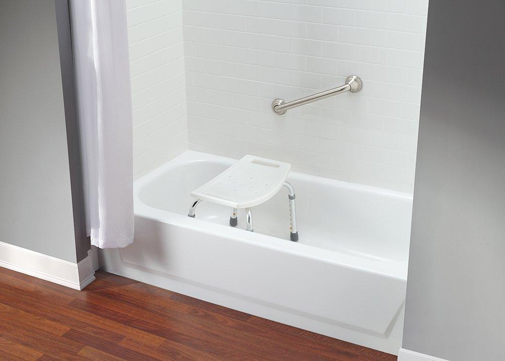 Mefeir Upgraded Medical Spa Shower Bath Chair Seat,Bathtub