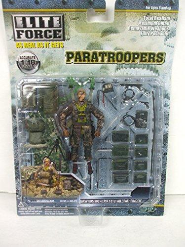 (BBi Elite Force 1:18 - Paratroopers - WWII US 502nd PIR 101st Airborne SGT. BEN TALBOT Solider Figure)