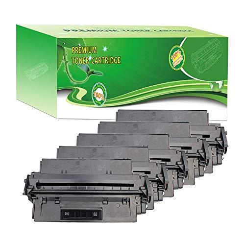 ABCink C4096A 96A Toner Compatible for HP Laserjet 2100m,2100xi,2100tn,2100se,2100,2200,2200dse,2200d Printer Toner Cartridge,5000 Yields(5 Pack,Black)