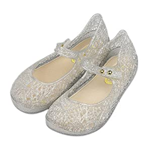 iFANS Girls Princess Shoes Baby Girls Crystal Shoes Children High Heel Sandals