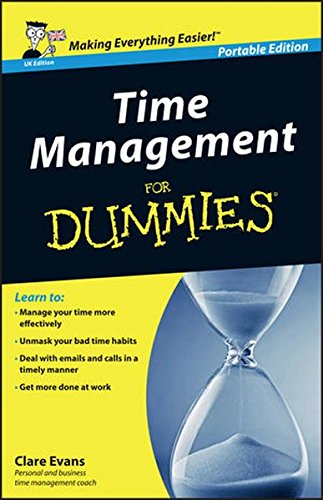 Time Management For Dummies Uk Edition AmazonCoUk Clare