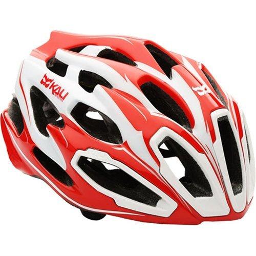 Kali Protectives Maraka Bike Helmet (Zone Red/White - S/M)