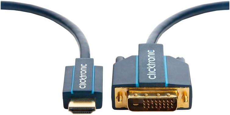 Clicktronic Casual Hdmi Dvi Kabel 10 0 M Elektronik