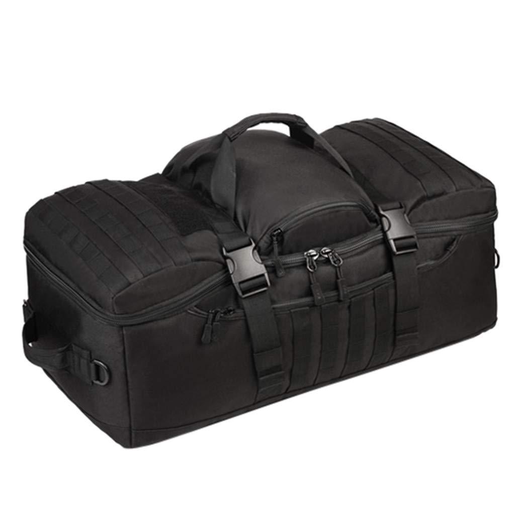 Ecurson オーバーナイト 多目的 ハンドバッグ ショルダー キャンバス バッグ/旅行 トート ラゲッジ/ウィークエンダー 旅行バッグ/大容量 登山バッグ アウトドア バックパック B07MZ6DNFK A