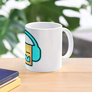 Gd Robtop Geometrydash Dash Robtopgames Games Icon Geometry Best 11 Ounce Ceramic Coffee Mug Gift
