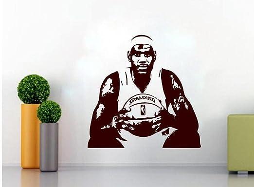 Luziang Baloncesto de NBA Estrella Lebron James Wall Sticker de ...