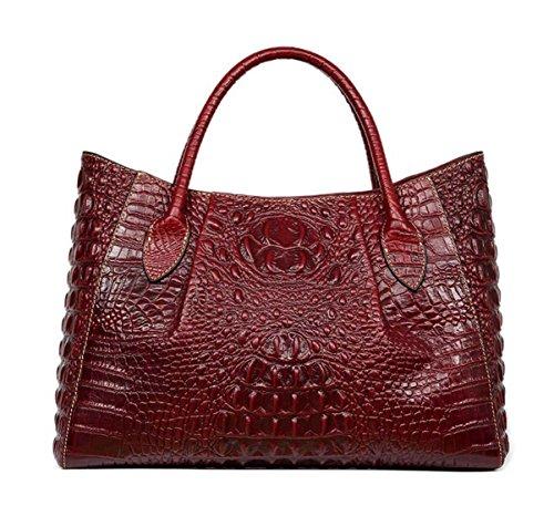 Rouge Cuir MAIN Nouveau Porté femmes main EPAULE Keshi Sac à et style Pgx4cwqd