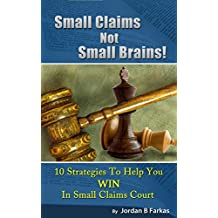 Small Claims Not Small Brains!: 10 Strategies To Help You Win In Small Claims Court