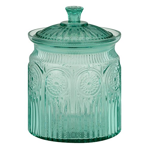 Price comparison product image The Pioneer Woman Adeline Cookie Jar Turquoise,  1.0 CT