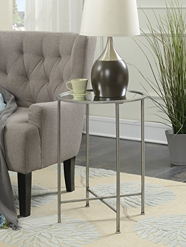 Convenience Concepts 227945S Gold Coast Accent End Table, (Bun Warmer Shelf)