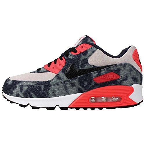 Nike Air Max 90 Qs Dnm Mens Formatori 700875 Sneakers Scarpe Rosse