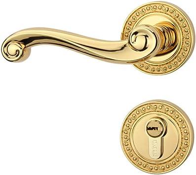 Cerraduras de puerta de aleación de aluminio de bedroom continental