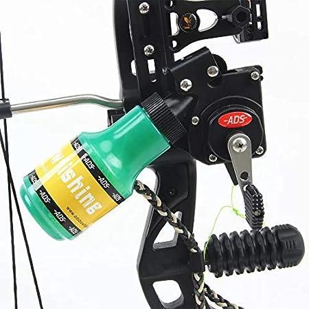 Compoundbogen Bowfishing Reel mit 50 Meter Linie für Recurve und Compoundbogen
