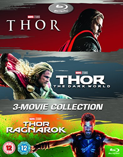 Thor 1-3 Box Set BD [Blu-ray] [2017] [Region Free]