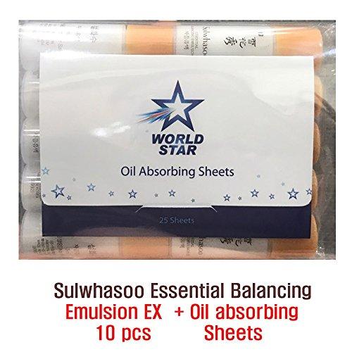 Sulwhasoo Essential Balancing Emulsion 5ml X 10pcs (50ml)