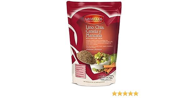 Linwoods - Linaza, CHía, Manzana & Canela Triturada - 200g: Amazon ...