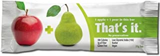 product image for THATS IT FRUIT BAR APPLE PEAR, (12 Count of 1.2 oz Bars) 14.4 oz