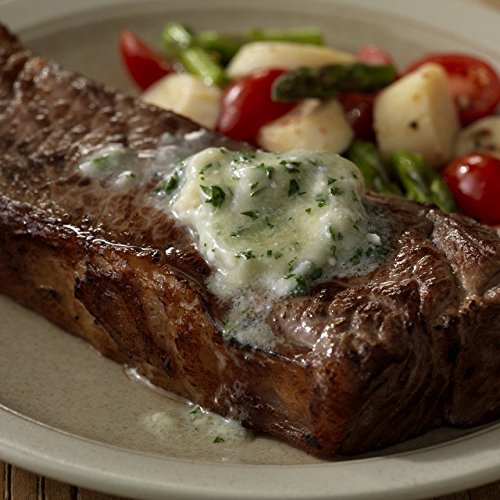 Meyer Natural Angus USDA Prime New York Strip Steaks 10oz - 4 per case
