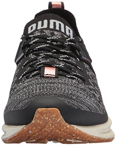 PUMA Damen Ignite Evoknit Lo vr Wn Sneaker Puma Black-Steinbruch-ruhigen Schatten