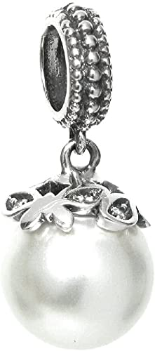 Queenberry Sterling Silver Plane Travel Passport Cubic Zirconia European Style Dangle Bead Charm