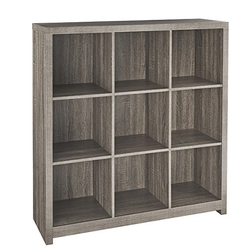 ClosetMaid Decorative Brown Laminate Contemporary 9-cube Organizer
