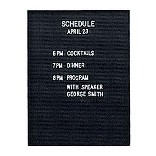 Unframed Insert Panel - Unframed Flannel Enclosed Letter Board Size: 36