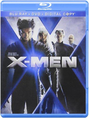 Amazon X Men Blu Ray DVD Combo Digital Copy Hugh Jackman Patrick Stewart Ian McKellen Famke Janssen James Marsden Halle Berry Anna Paquin