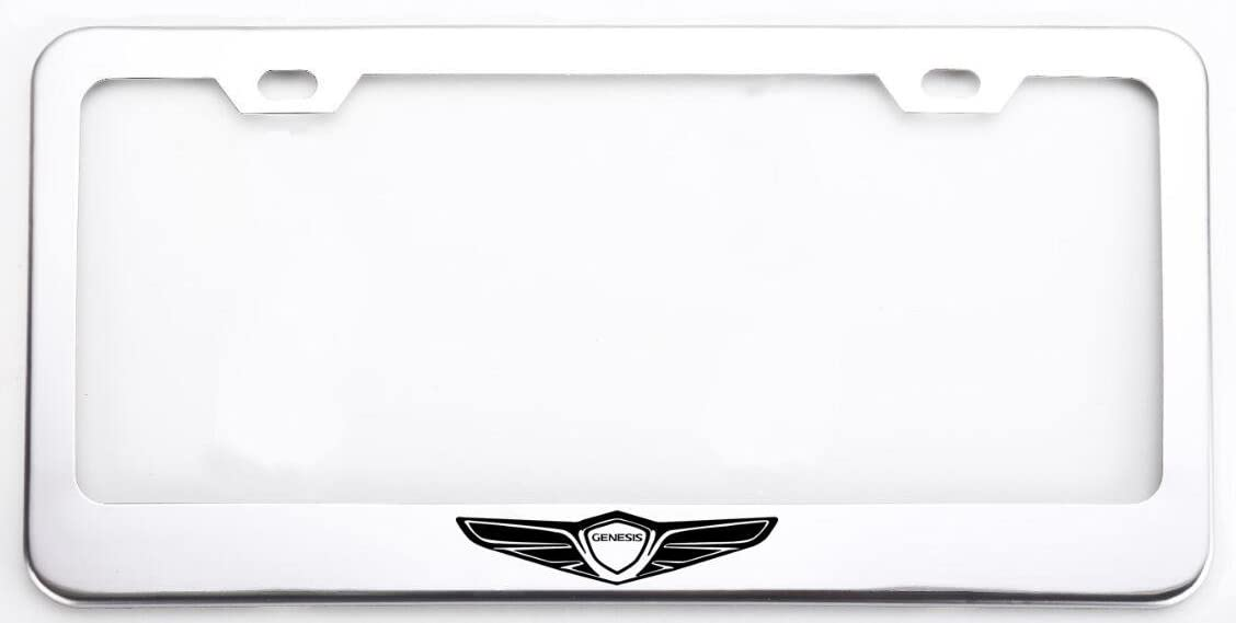 Chrome Stainless Steel Front Rear For Volvo License Plate Frame Cover Gift