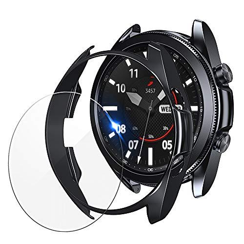 2 Protector De Pantalla + 2 Funda Para Galaxy Watch3-41mm