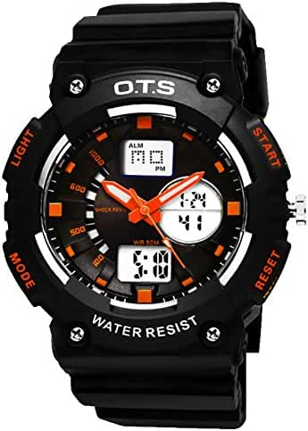 Youth outdoor sports watches/Fashion waterproof night electronic watch-E