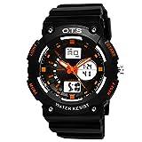 Youth outdoor sports watches/Fashion waterproof night electronic watch-E