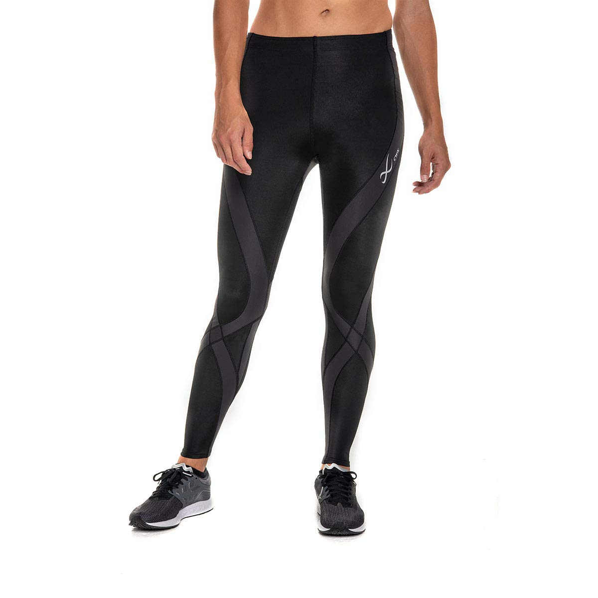 CW-X Women's Pro Running Tights,Black,Large by CW-X (Image #1)