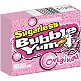 HERSHEY Bubble Yum Sugar Free Original, 1.7600-Ounce Boxes (Pack of 24)