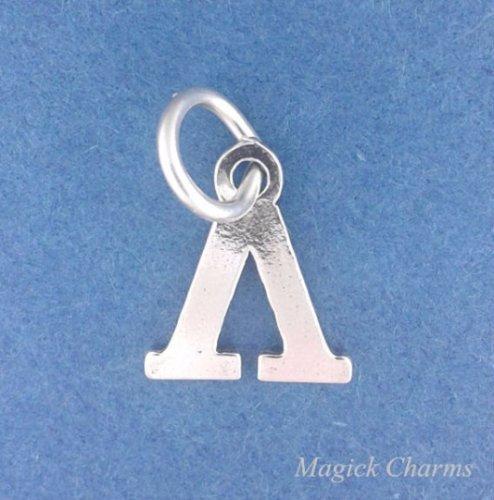 OutletBestSelling Beads Bracelet Sterling Silver Greek Letter Charm Fraternity Sorority - Lambda