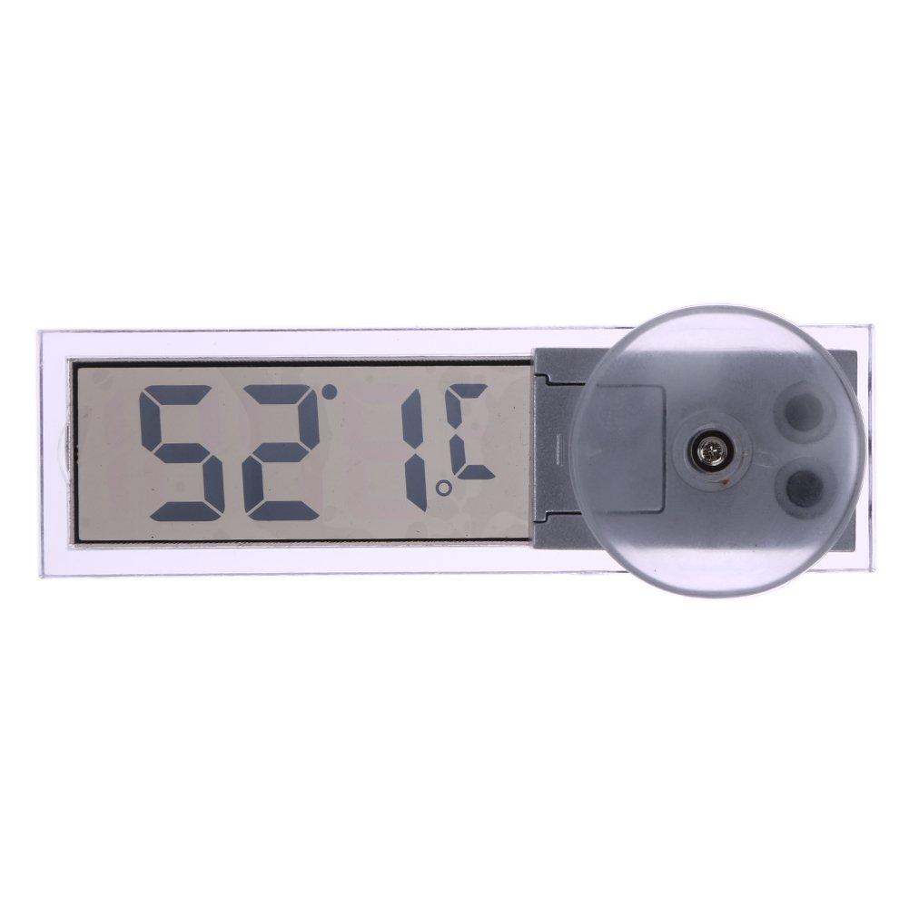Demiawaking New Osculum Typ LCD Fahrzeug-montiert Saugnapf Digital-Thermometer Celsius Fahrenheit 87624