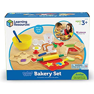 Pretend to cook your favorite treats with this super-sized bakery set: Toys & Games