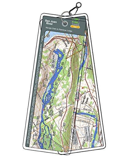 San Juan River Map Set - New Mexico, Navajo Dam to Rainbow Lodge