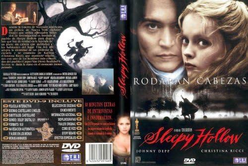 SLEEPY HOLLOW -RODARAN CABEZAS-: Amazon.es: JOHNNY DEEP, TIM BURTON: Cine y Series TV