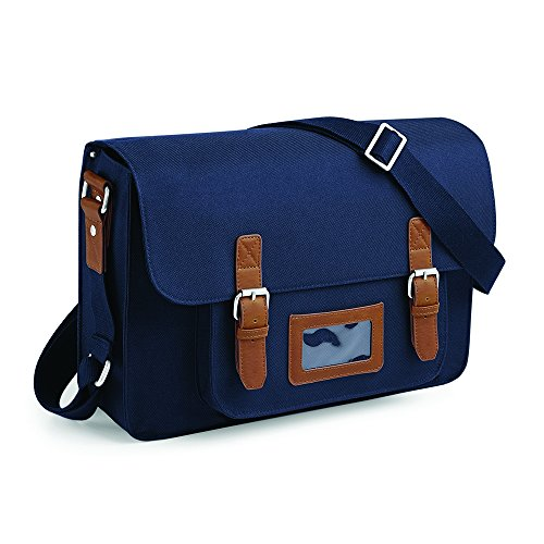 Quadra Heritage Satchel Azul - French Navy