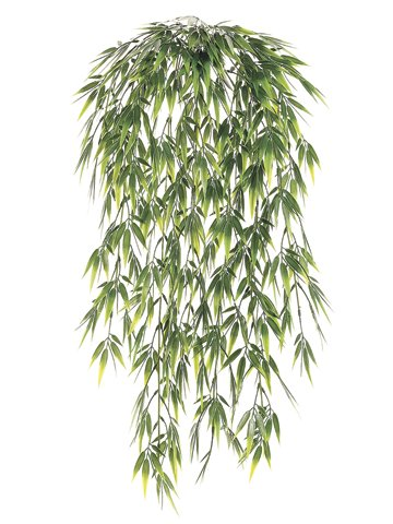 Plastic-Bamboo-Hanging-Leaf-Bush-in-Two-Tone-Green-325-Long