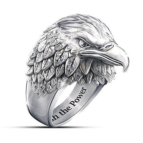 Bradford Exchange Ring: Strength And Pride Ring: 14