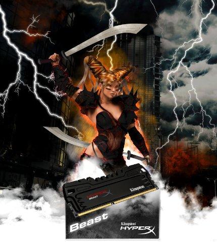 Kingston HyperX Beast 32 GB Kit (4x8 GB) 2400MHz DDR3 PC3-19200 Non-ECC CL11 DIMM XMP Desktop Memory KHX24C11T3K4/32X