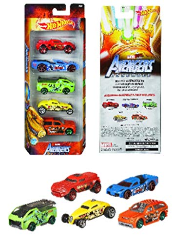 """THOR Avengers Assemble Marvel Studios /""""Slayer/"""" Yellow Die Cast Car Collectible"""
